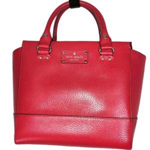 Kate Spade Red Lana Grove Street Satchel